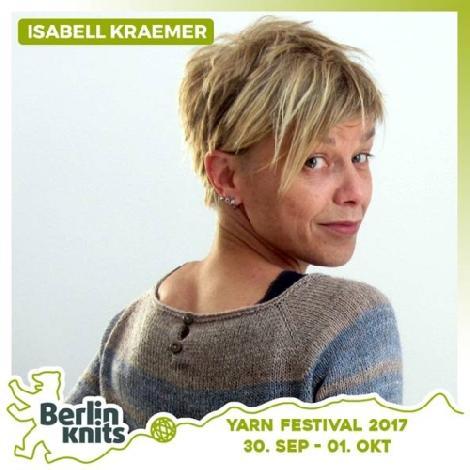 Isabell Krämer Ärmel, von oben eingestrickt Ticket Isabell Kraemer